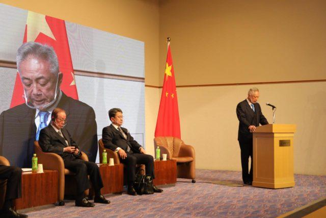 蒋晓松:积极促进中日医疗健康交流,深化两国资源与市场的互补合作