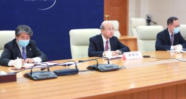 外交部部长助理刘显法出席中日新时代健康论坛