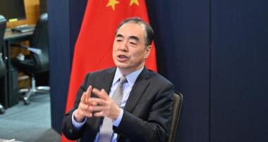 孔鉉佑駐日大使「日中新時代健康フォーラム」に出席